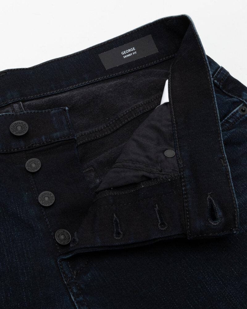 Spodnie Dondup UP232_DSE308U_899 granatowy - fot:2
