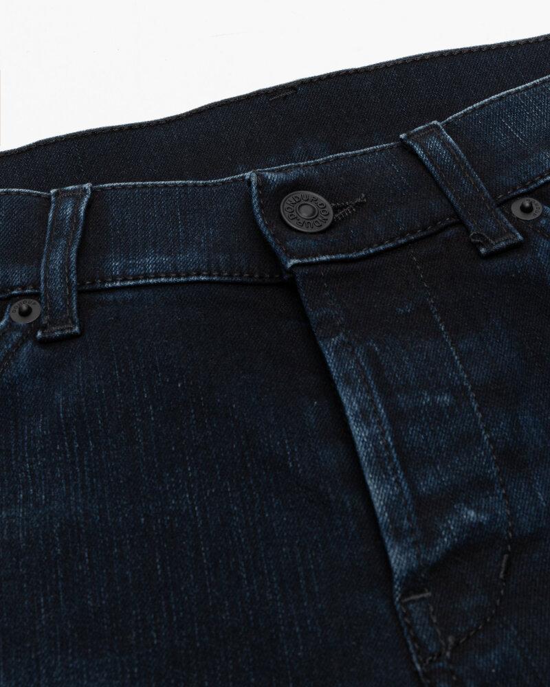 Spodnie Dondup UP232_DSE308U_899 granatowy - fot:4