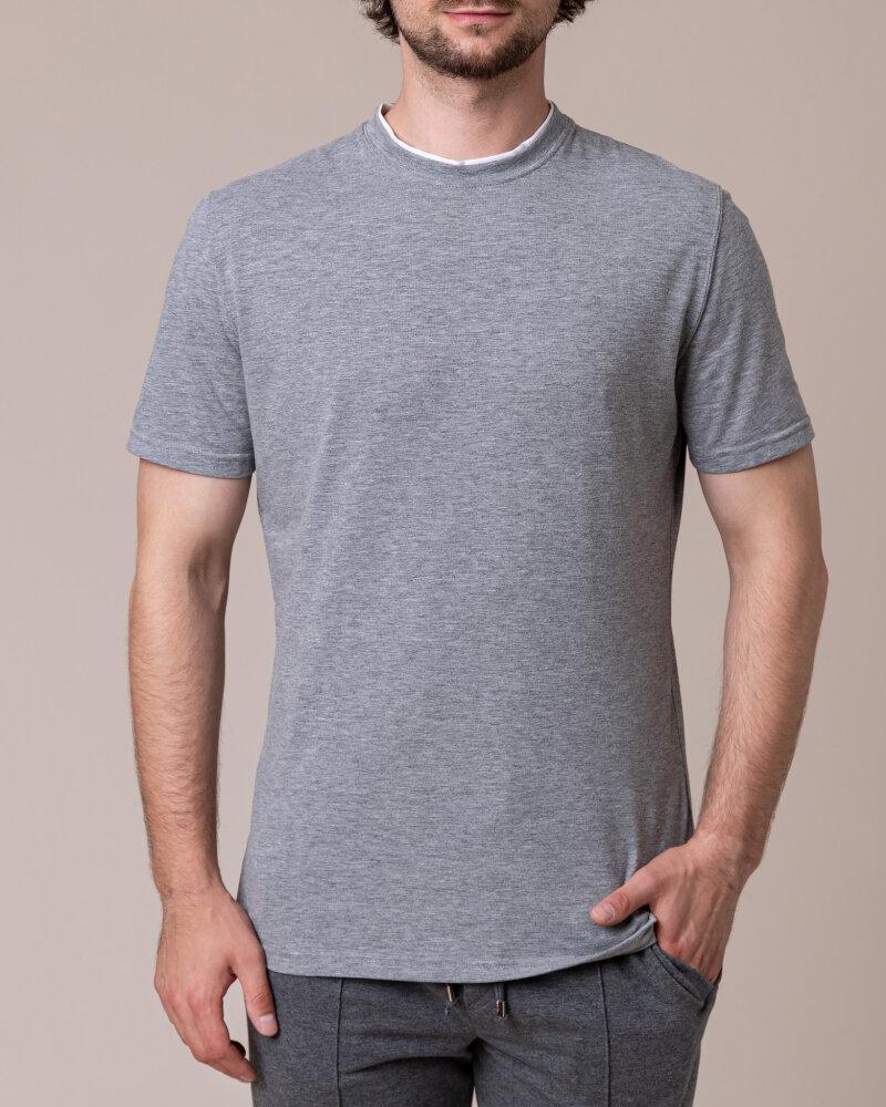 T-Shirt Philip Louis NOS_M-TSH-0033 NOS_GREY zielony - fot:2