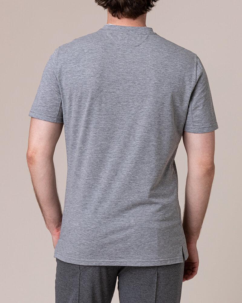 T-Shirt Philip Louis NOS_M-TSH-0033 NOS_GREY zielony - fot:4