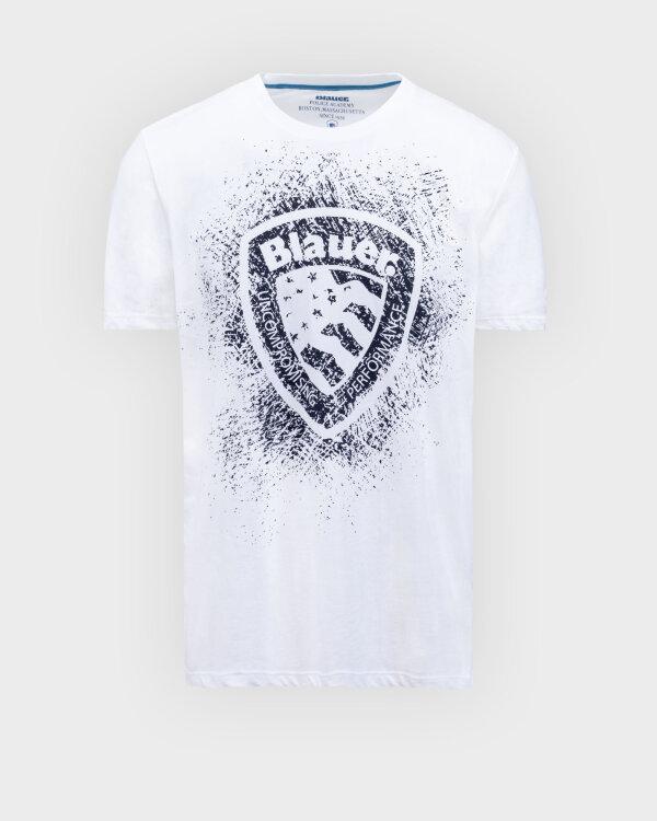 T-Shirt Blauer BLUH02134_4547_100 biały