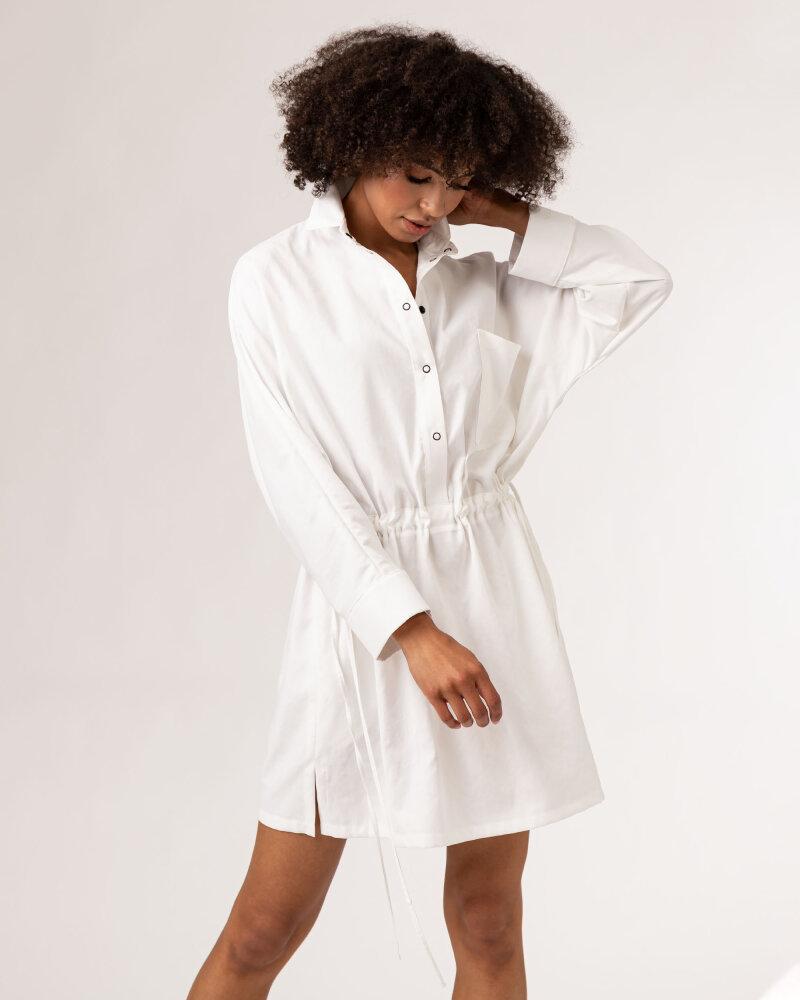 Sukienka Fraternity WL21_KHOLE_CREAM biały - fot:7