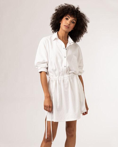 Sukienka Fraternity WL21_KHOLE_CREAM biały