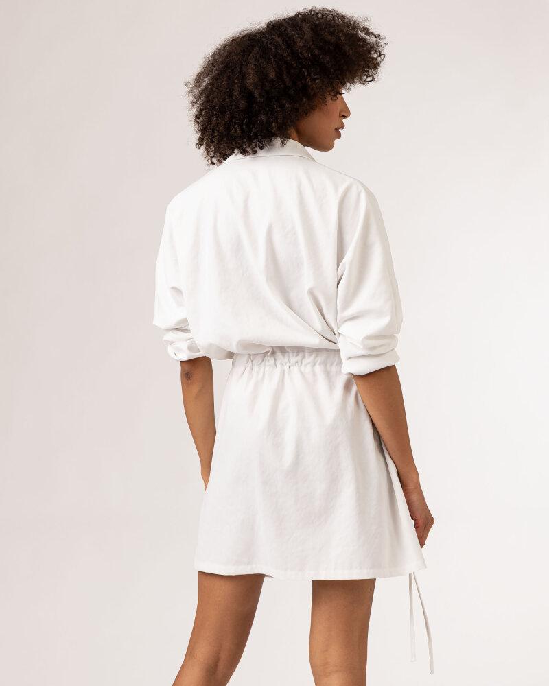 Sukienka Fraternity WL21_KHOLE_CREAM biały - fot:5