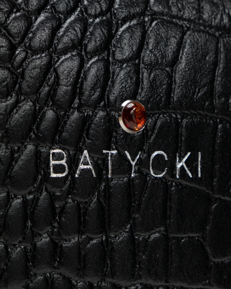 Torba Batycki T212AL0100SR _ALIGATOR CZARNY SR czarny - fot:2