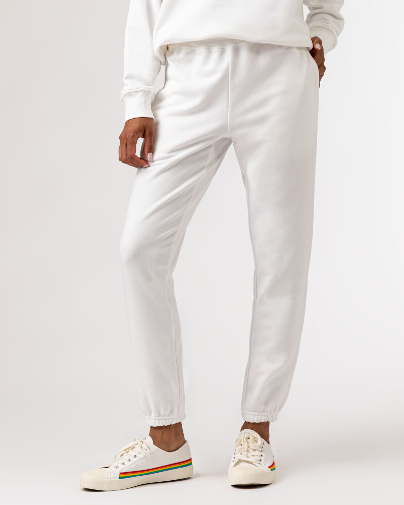 Spodnie Fraternity WL21_CHARLI_OFF WHITE off white - fot:2