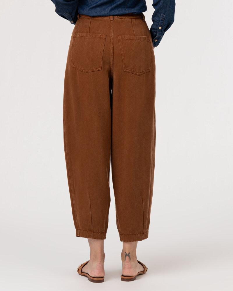 Spodnie Iblues 71361316_BALENIO_004 brązowy - fot:4