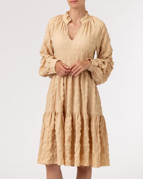 Sukienka Na-Kd 1014-000736_BEIGE beżowy