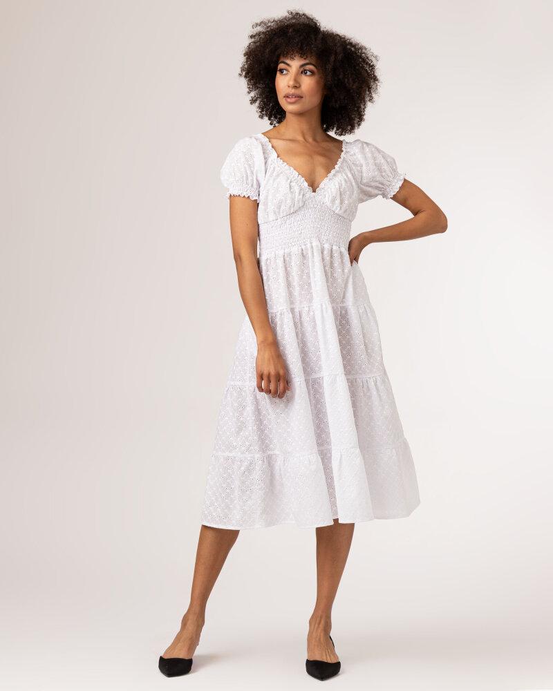 Sukienka Fraternity WL21_VALERIE_WHITE biały - fot:2