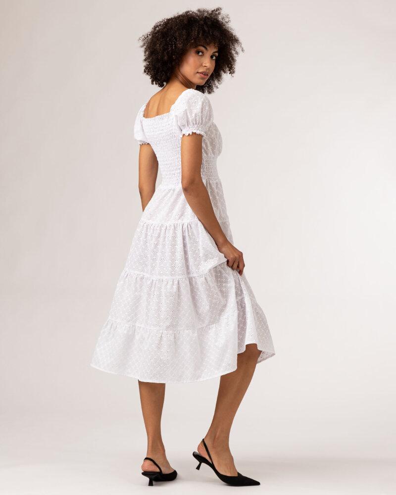 Sukienka Fraternity WL21_VALERIE_WHITE biały - fot:5