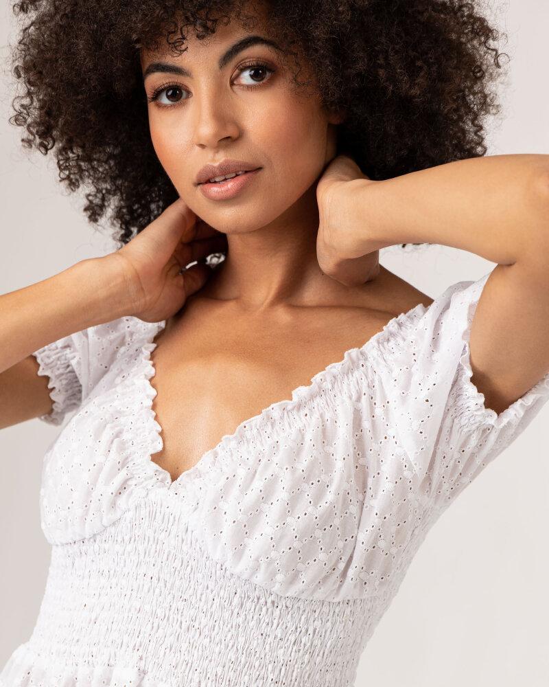 Sukienka Fraternity WL21_VALERIE_WHITE biały - fot:3
