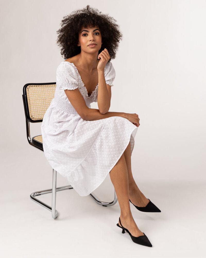 Sukienka Fraternity WL21_VALERIE_WHITE biały - fot:4