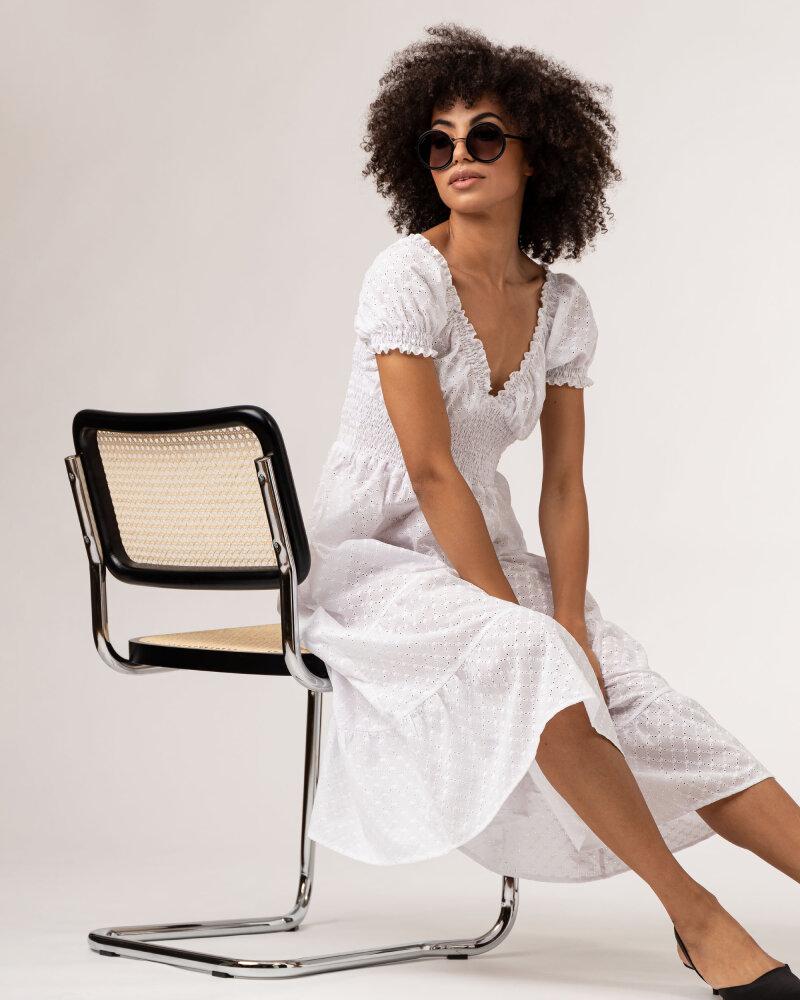 Sukienka Fraternity WL21_VALERIE_WHITE biały - fot:7