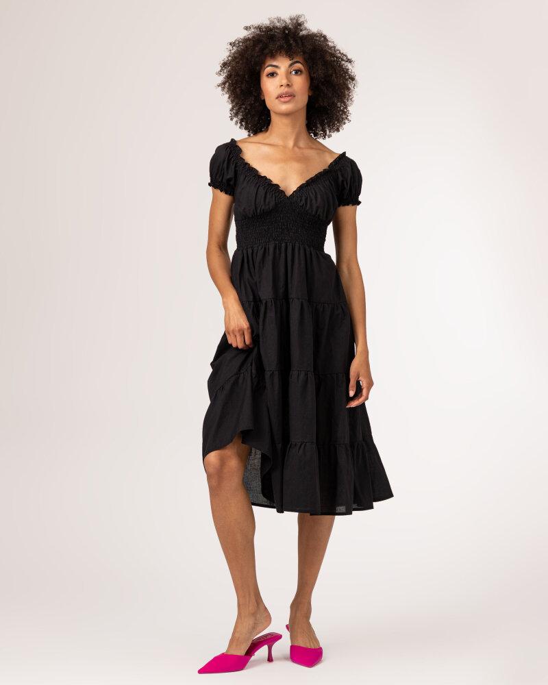 Sukienka Fraternity WL21_VALERIE_BLACK czarny - fot:7