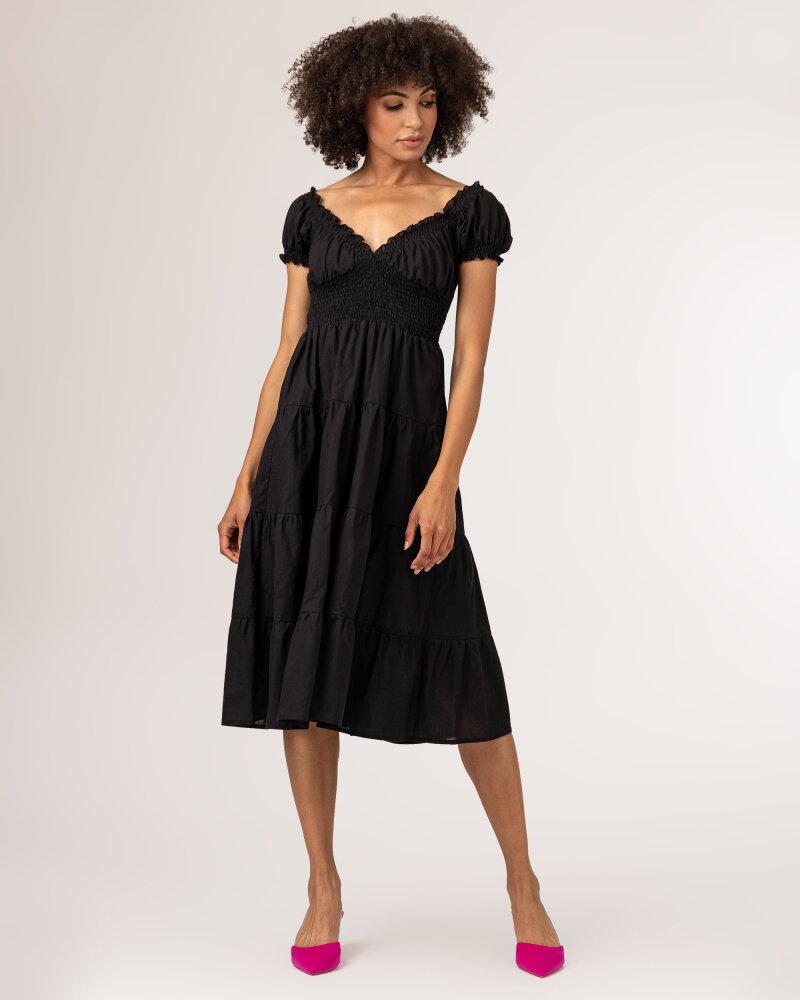 Sukienka Fraternity WL21_VALERIE_BLACK czarny - fot:2