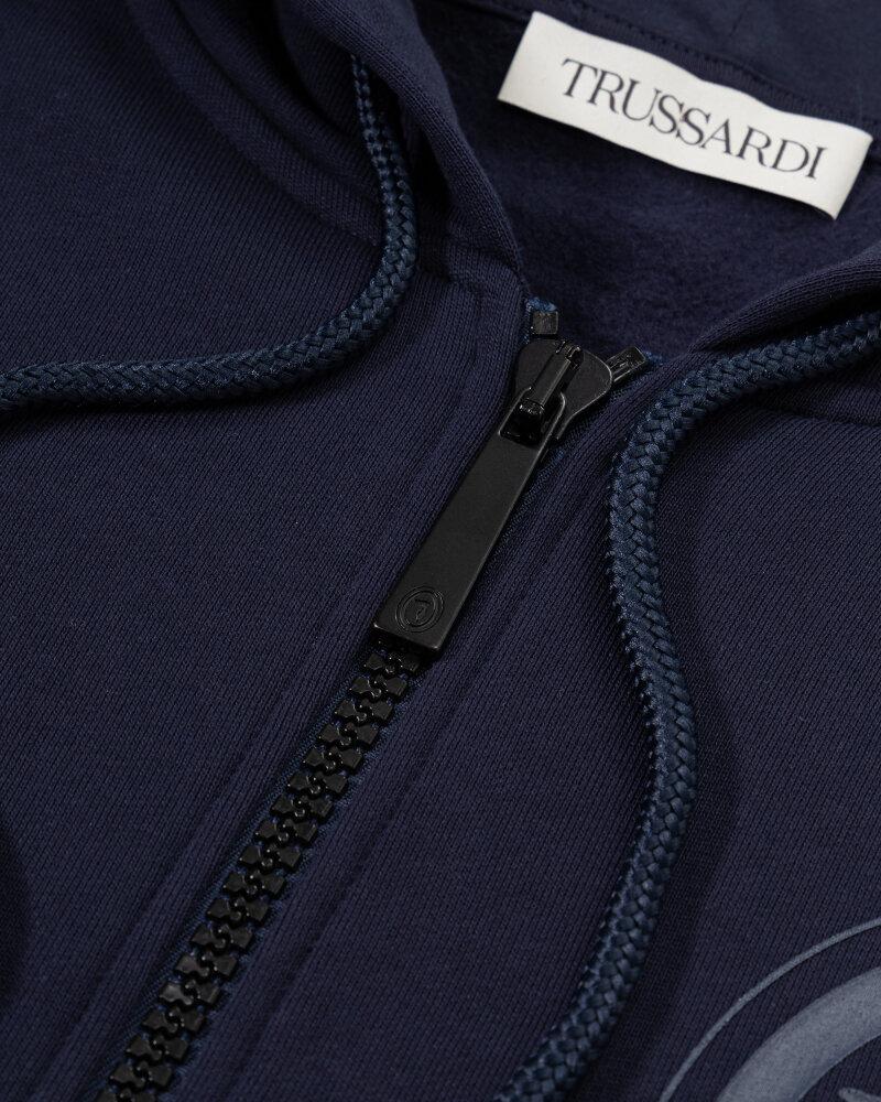 Bluza Trussardi  52F00198_1T004241_U290 granatowy - fot:4