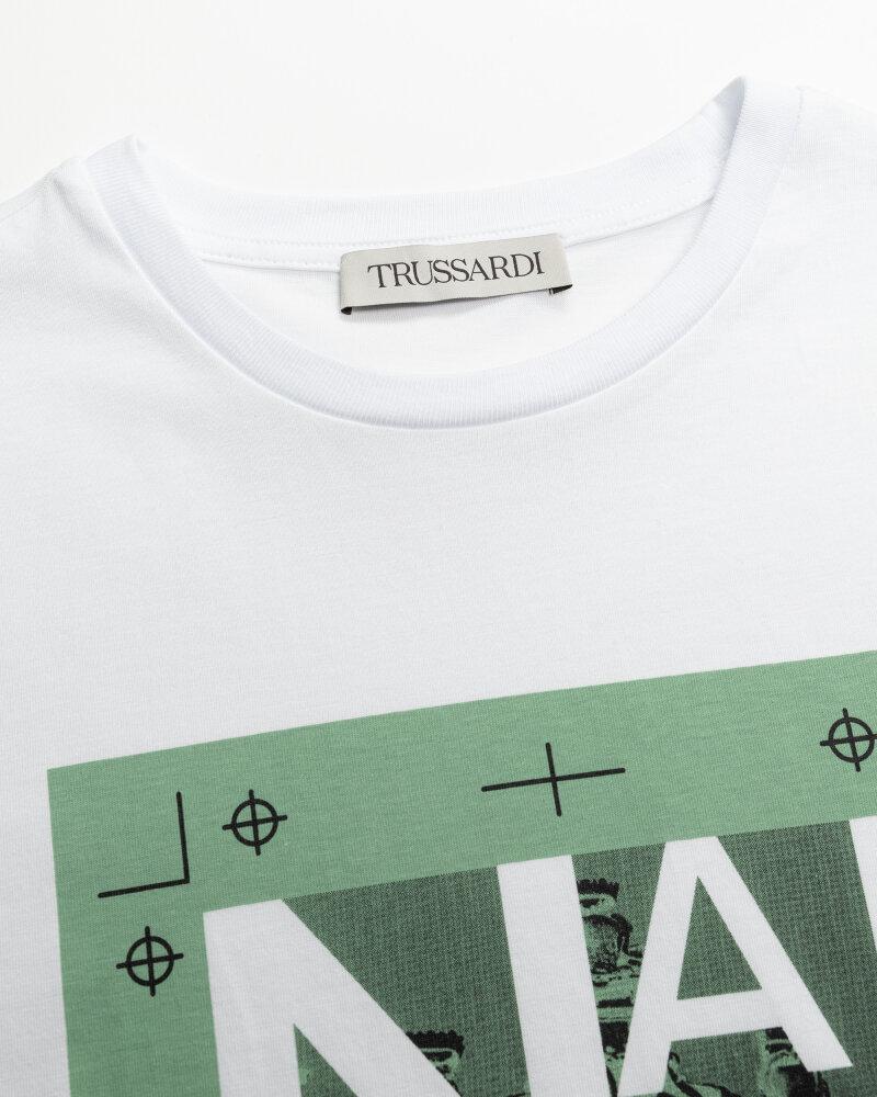 T-Shirt Trussardi  52T00533_1T005328_G150 biały - fot:2