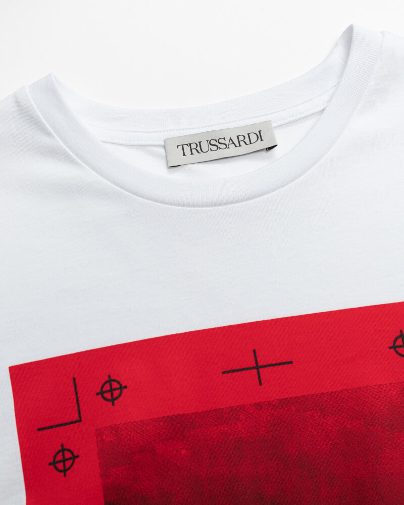 T-Shirt Trussardi  52T00533_1T005328_R150 wielobarwny - fot:2