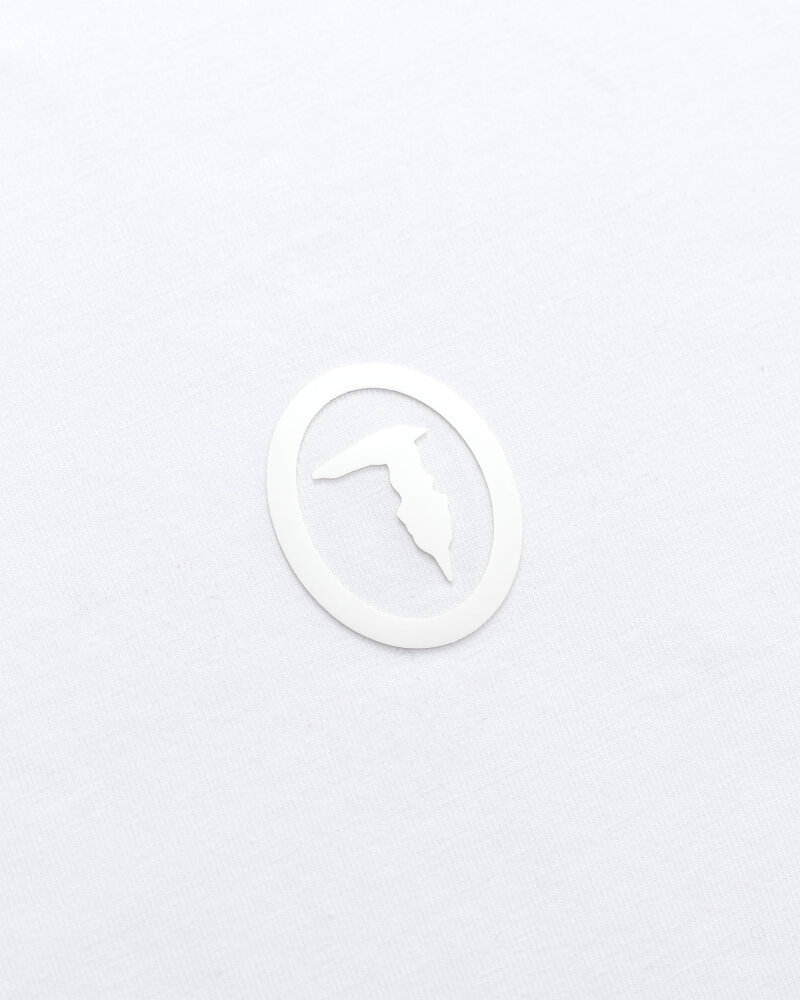 T-Shirt Trussardi  52T00535_1T003077_W011 biały - fot:3