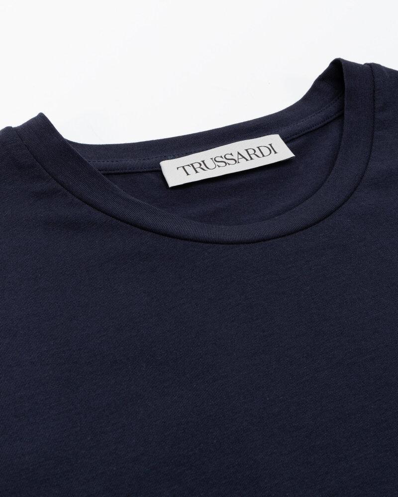 T-Shirt Trussardi  52T00535_1T003077_U290 granatowy - fot:2