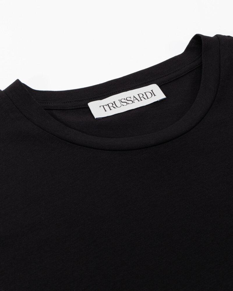 T-Shirt Trussardi  52T00535_1T003077_K299 czarny - fot:2