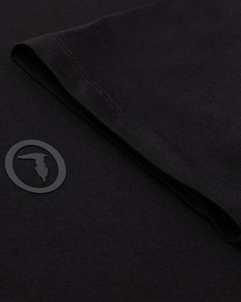 T-Shirt Trussardi  52T00535_1T003077_K299 czarny - fot:3