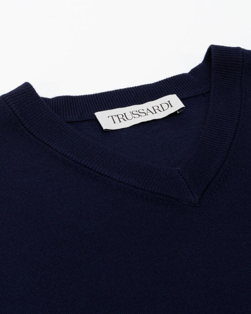 Sweter Trussardi  52M00518_0F000542_U290 granatowy - fot:2