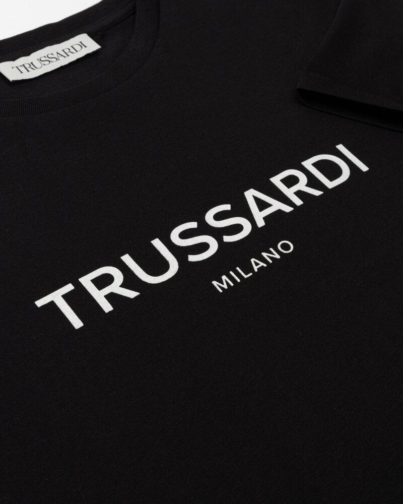 T-Shirt Trussardi  52T00509_1T005328_K299 czarny - fot:3