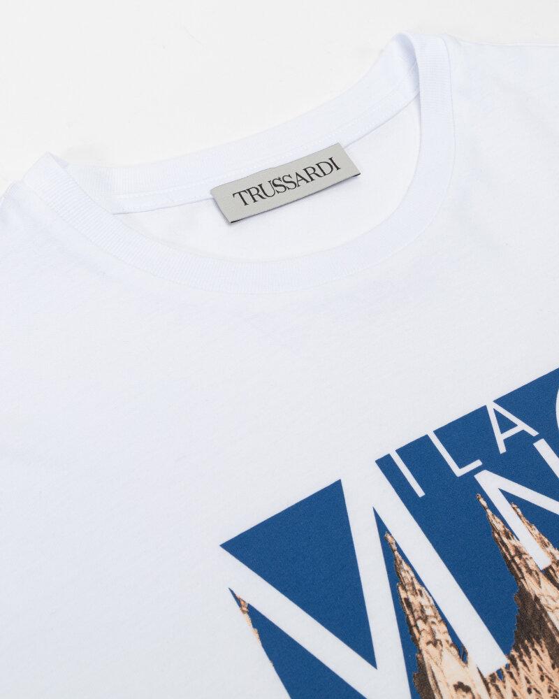 T-Shirt Trussardi  52T00533_1T005328_U290 biały - fot:2