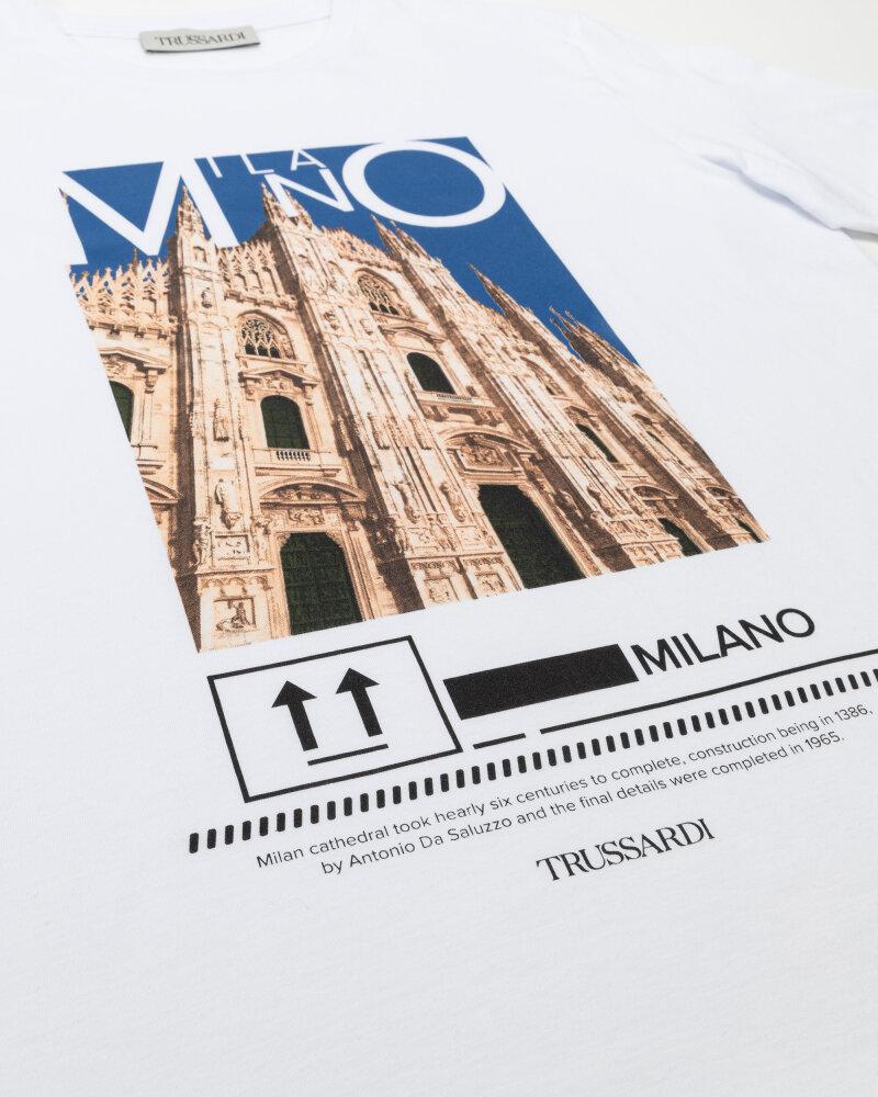 T-Shirt Trussardi  52T00533_1T005328_U290 biały - fot:3