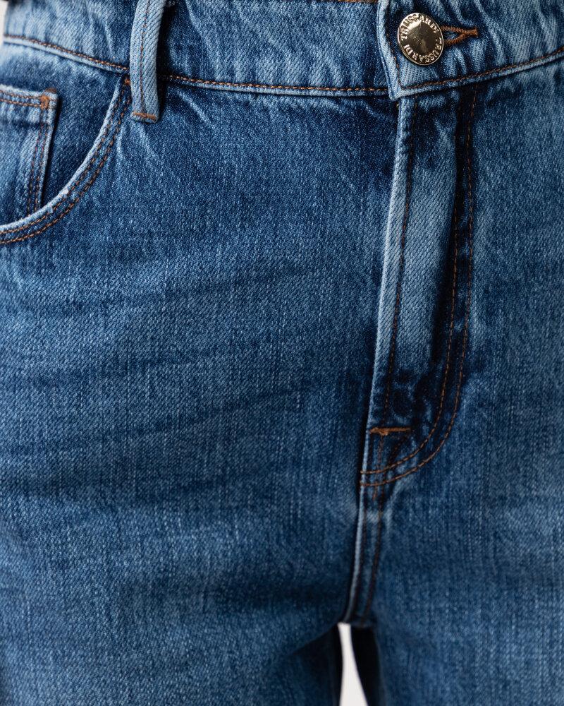 Spodnie Trussardi  56J00105_1T005403_U601 niebieski - fot:3