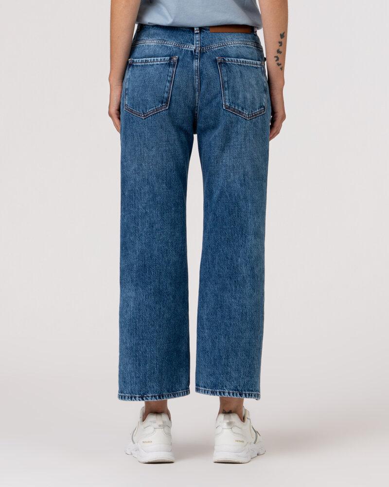Spodnie Trussardi  56J00105_1T005403_U601 niebieski - fot:5
