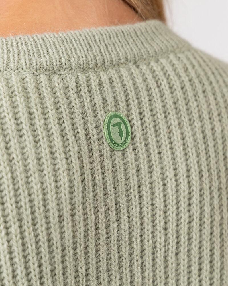 Sweter Trussardi  56M00402_0F000649_G046 zielony - fot:4