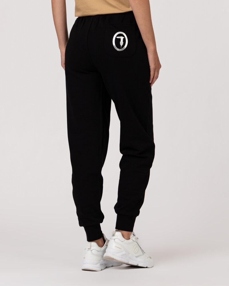 Spodnie Trussardi  56P00294_1T002268_K299 czarny - fot:5