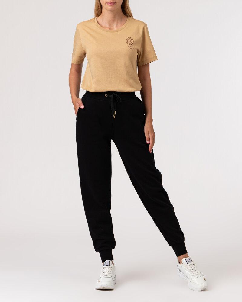 Spodnie Trussardi  56P00294_1T002268_K299 czarny - fot:6