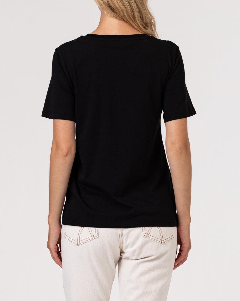 T-Shirt Trussardi  56T00420_1T003062_K299 czarny - fot:4