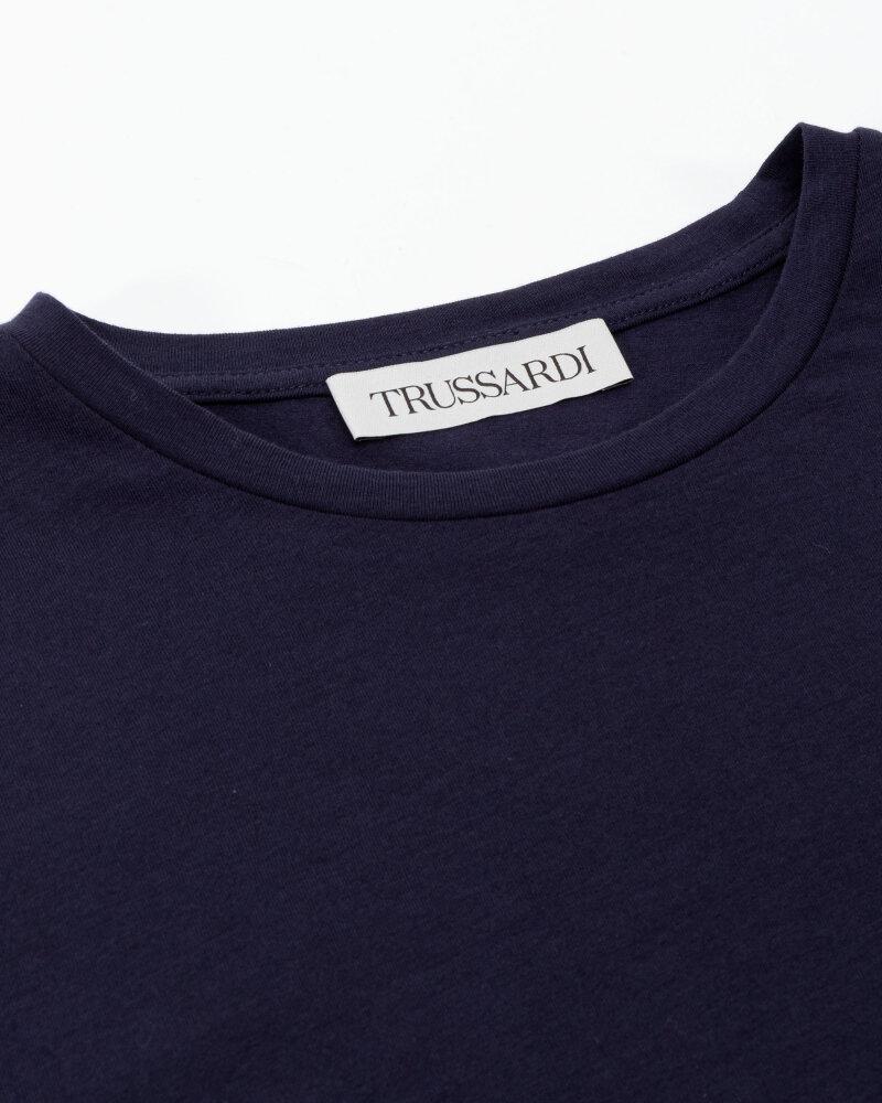 T-Shirt Trussardi  52T00538_1T003077_U281 granatowy - fot:2