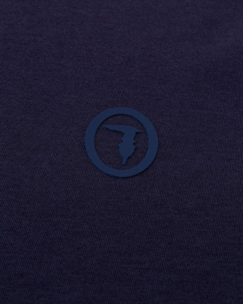 T-Shirt Trussardi  52T00538_1T003077_U281 granatowy - fot:3