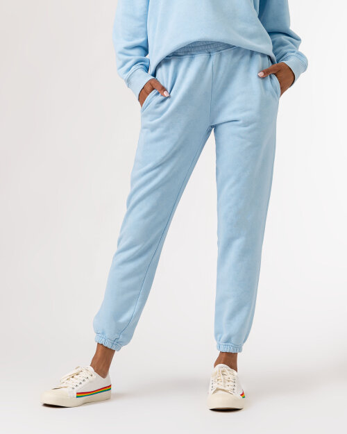 Spodnie Fraternity WL21_CHARLI_SKY błękitny