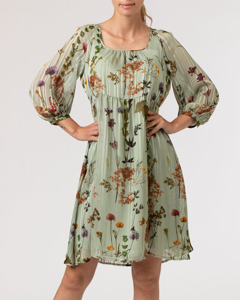 Sukienka Trussardi  56D00481_1T005346_G842 jasnozielony - fot:2