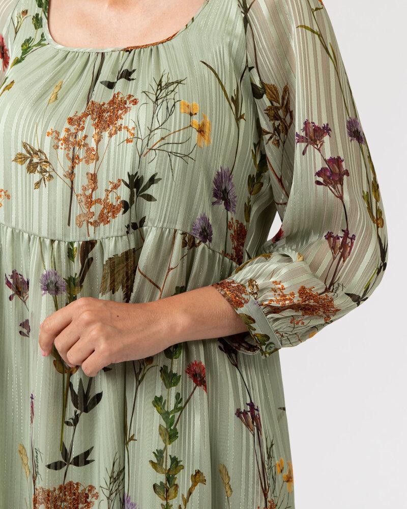 Sukienka Trussardi  56D00481_1T005346_G842 jasnozielony - fot:3
