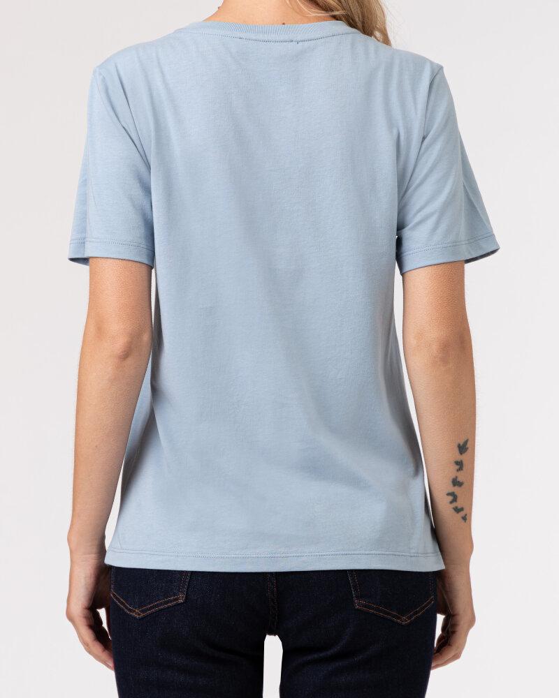 T-Shirt Trussardi  56T00409_1T005459_U020 błękitny - fot:4