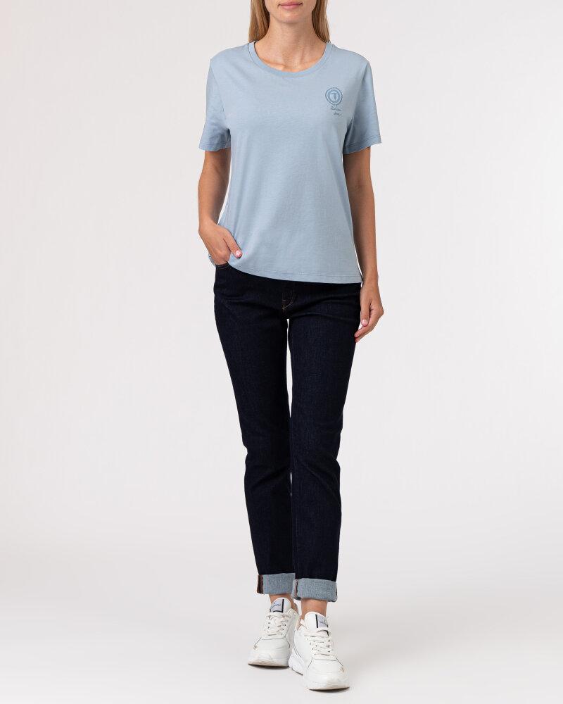 T-Shirt Trussardi  56T00409_1T005459_U020 błękitny - fot:5