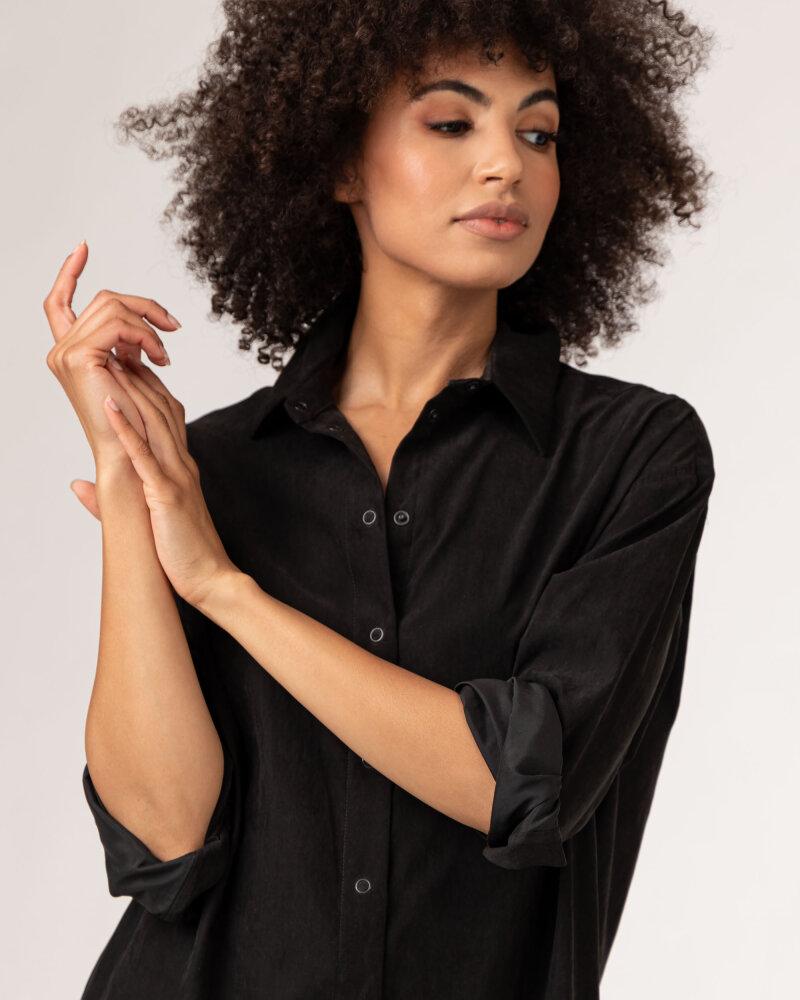 Koszula Fraternity WL21_YOKO_BLACK czarny - fot:3