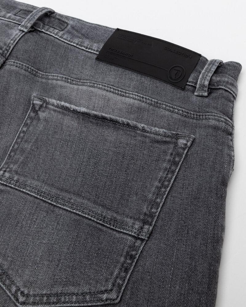 Spodnie Trussardi  52J00008_1T005420_E154 szary - fot:4