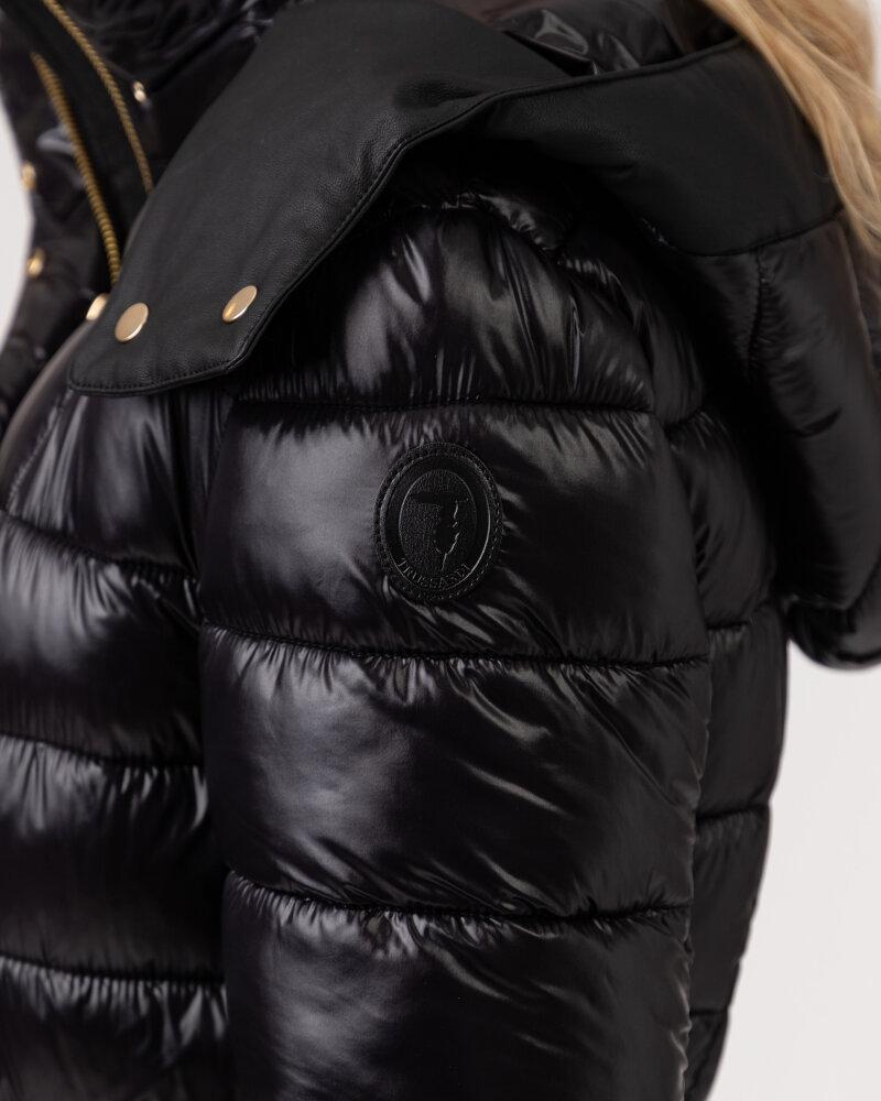 Płaszcz Trussardi  56S00686_1T004447_K299 czarny - fot:4