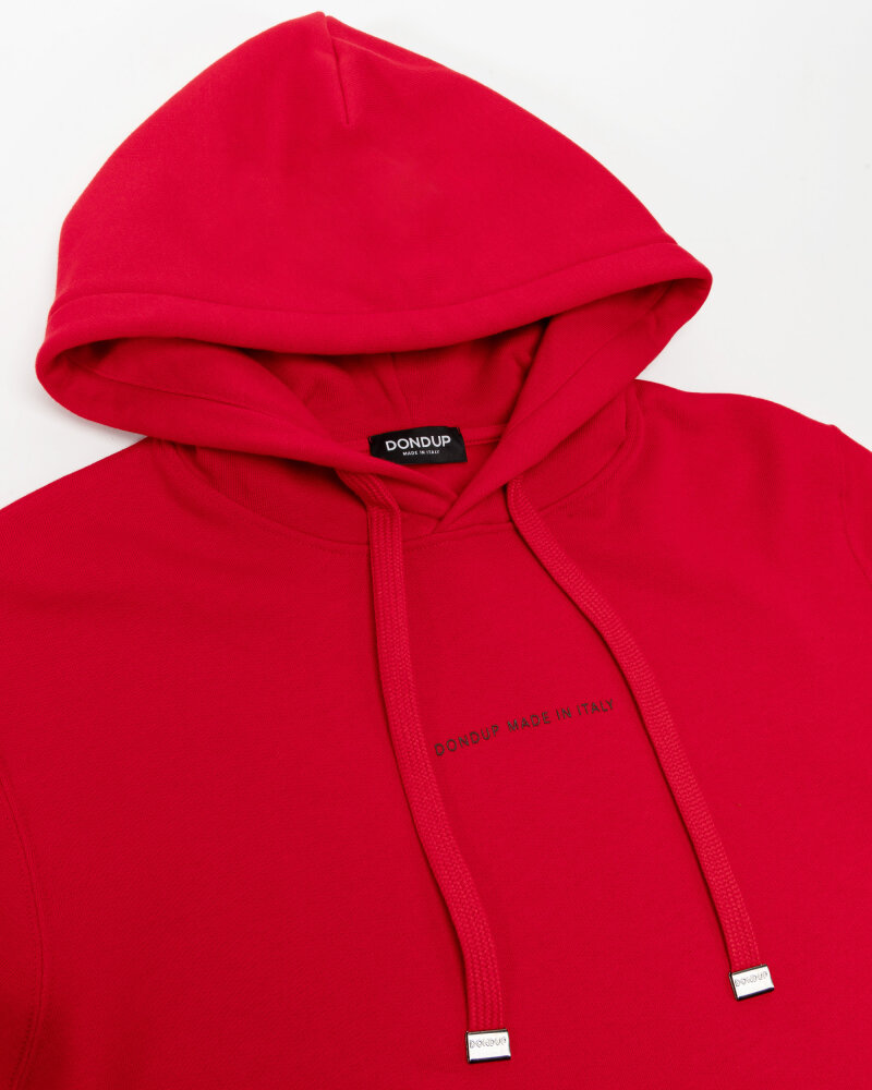 Bluza Dondup UF649_KF0202U_500 czerwony - fot:2