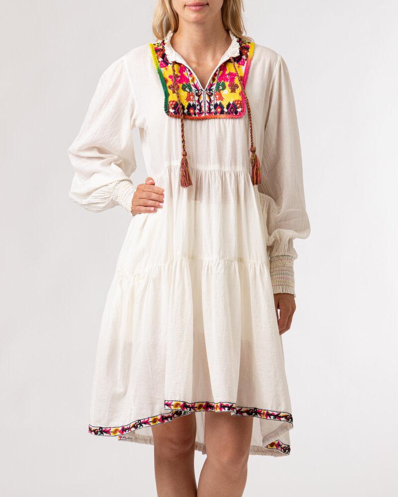Sukienka Lollys Laundry 21201_3000_CREME kremowy - fot:2