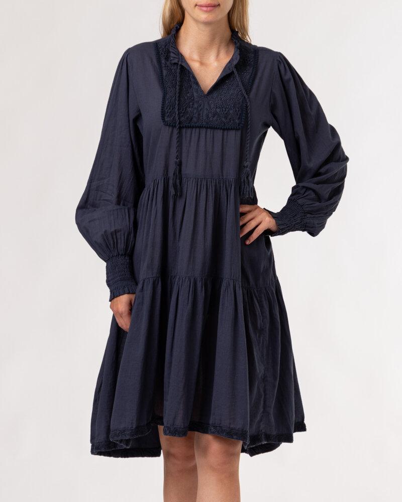 Sukienka Lollys Laundry 21201_3000_WASHED BLACK granatowy - fot:2