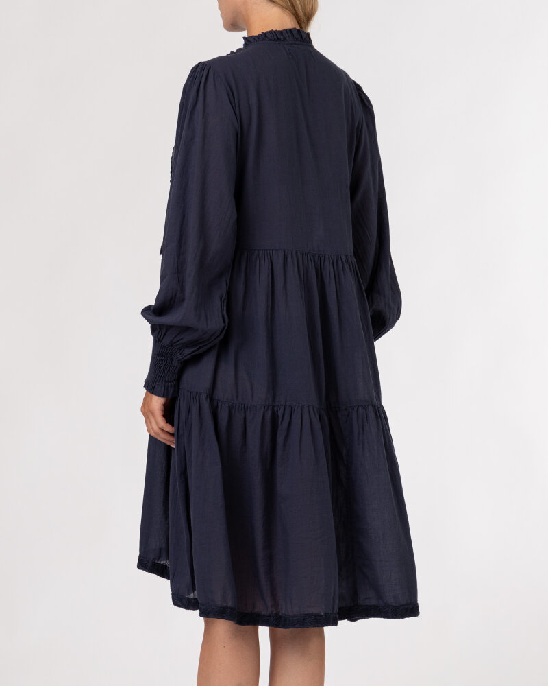 Sukienka Lollys Laundry 21201_3000_WASHED BLACK granatowy - fot:5